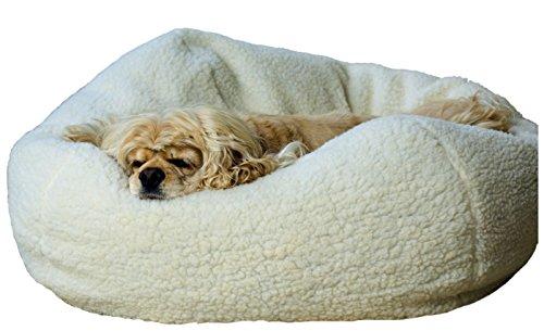 Carolina Pet Company X-Small Sherpa Puff Ball Pet Bed