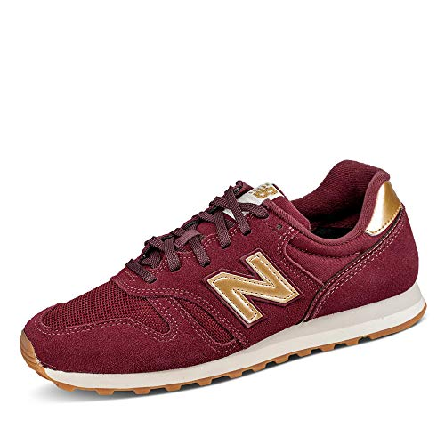 New Balance Damen 373 WL373FA2 Medium Sneaker, Red (Classic Burgundy FA2), 40.5 EU