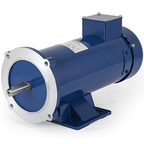 VEVOR 1 Hp DC Motor Rated Speed 1750 RPM 12V Electric Motor Permanent Magnet Motor
