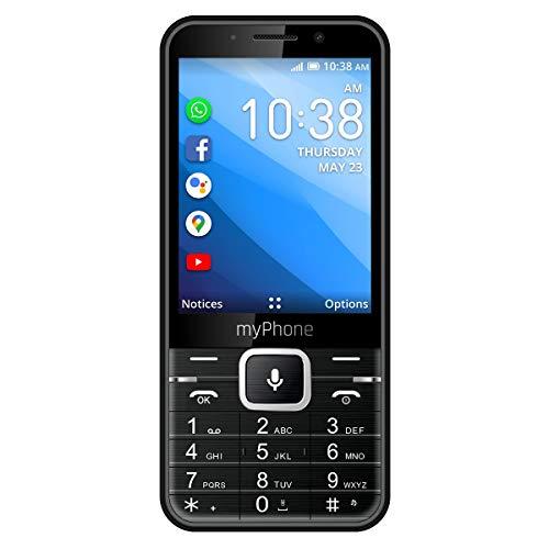 myPhone UP Smart LTE 4G Handy mit Whatsapp, Facebook, Google Apps, 3.2