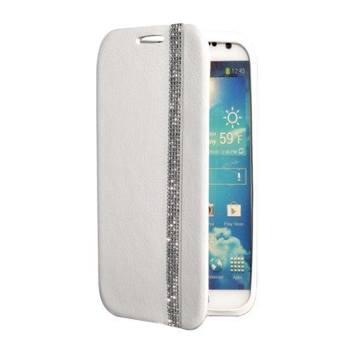 Swarovski River Folio Case für Samsung Galaxy S4, weiß