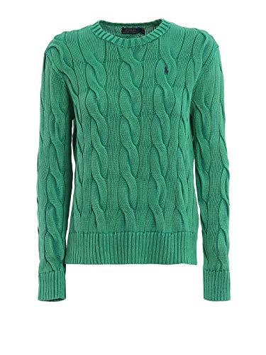 Luxury Fashion | Ralph Lauren Dames 211706244009 Groen Katoen Truien | Seizoen Outlet