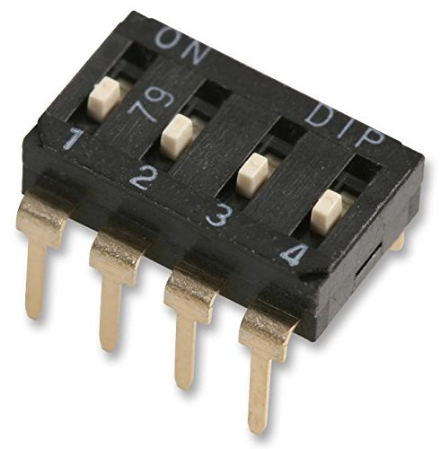 MCEI-04 - Safety and trust DIP SIP Switch Circuits 4 Slide Raised Throu Large-scale sale