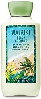 【Bath&Body Works/バス&ボディワークス】 ボディローション ワイキキビーチココナッツ Super Smooth Body Lotion Waikiki Beach Coconut 8 fl oz / 236 mL [並行輸入品]