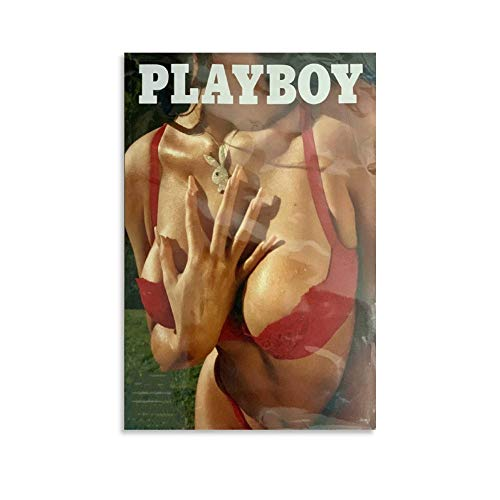 Kylie Jenner Playboy Cover Poster Canvas Art Poster and Wall Art Picture Print Modern Family Bedroom Decor Posters 12x18inch(30x45cm)