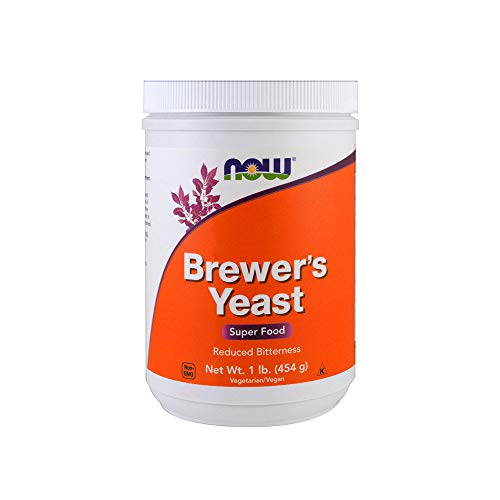 NOW Supplements, Brewer's Yeast Powder with naturally occurring Protein and B-Vitamins, 1-Pound