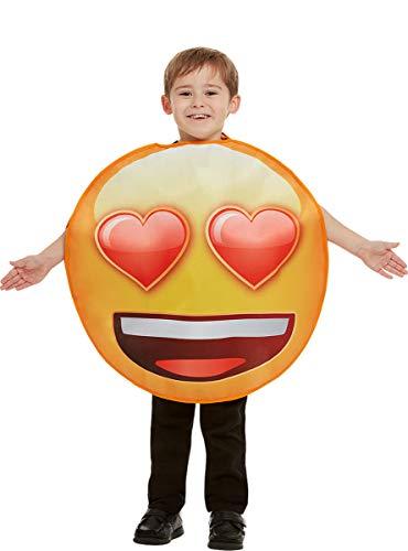 Funidelia | Costume da Emoji Sorridente con Occhi...