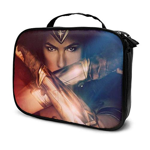 The Avenger Captain Superheld Wonder Woman Kosmetiktasche Große Kapazität Taschen Organizer Mode Make-up Handtasche 9,8x3,15x7,5 Zoll