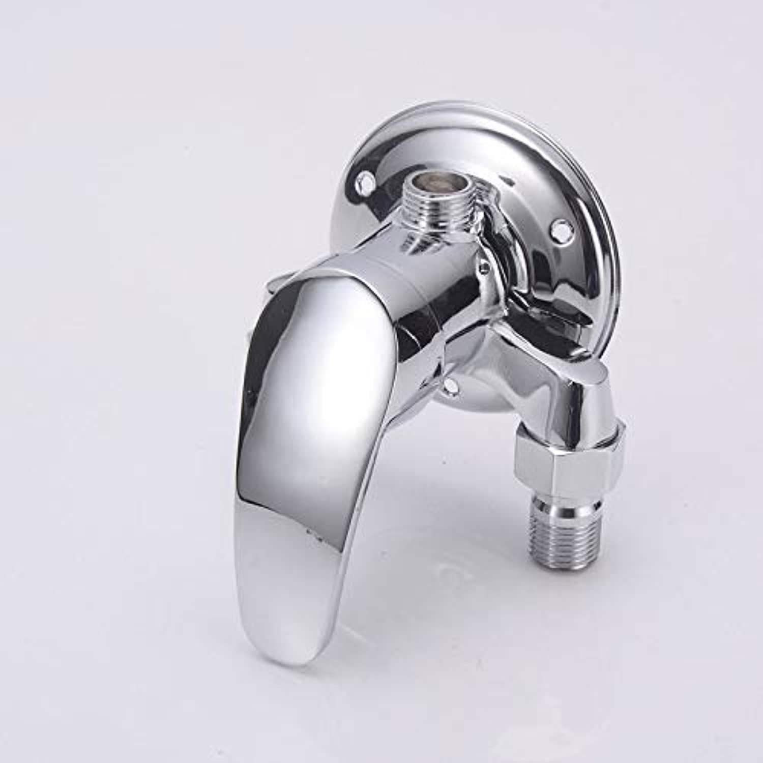 redOOY Taps Zinc Alloy Shower Faucet Bathtub Faucet Triangle Shower Faucet