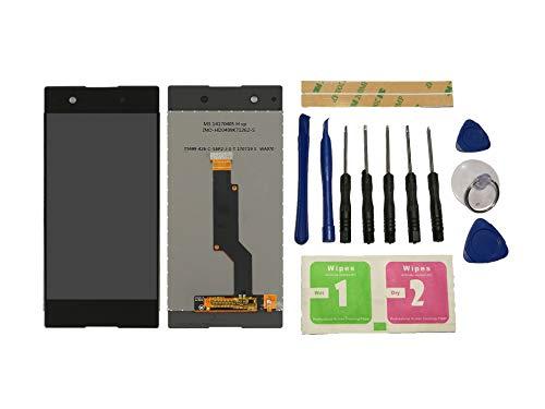 Flügel para Sony Xperia XA1 G3116 G3121 G3112 Pantalla LCD Pantalla Negro Táctil digitalizador Asamblea Pantalla (sin Marco) de Recambio & Herramientas