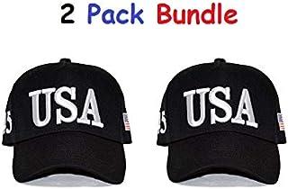 da245d663645e Make America Great Again Hat [2 Pack], Donald Trump USA MAGA Cap Adjustable