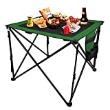 LESES Portable Picnic Table Lightweight with Storage Bag Travel Folding Camping Tables...