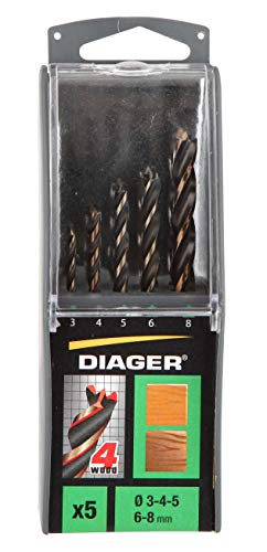 DIAGER 910d punte, Multicolore