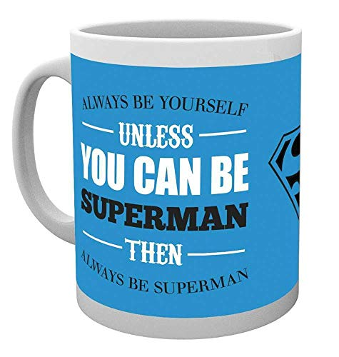 GB Eye, DC Comics, Superman, Be Yourself, Mug