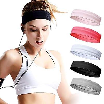 CestMall Damen Sport Stirnband