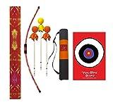 Two Bros Bows Orange Tie-Dye Archery Combo Set, Kids Bow and Arrow, Toy Bow and Arrow, Bow and Arrow, Archery Set for Kids