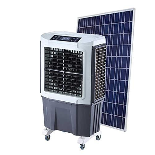 Lapden Enfriador de Aire evaporativo Solar de Grado Industrial - Ventilador de enfriamiento portátil Circulador de Aire con osicilatación y Control Remoto para Dormitorio, habitación Grande