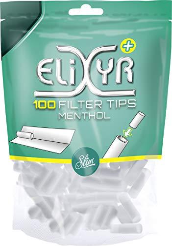 Elixyr+ . Filtri al mentolo (10 confezioni da 100 pezzi)