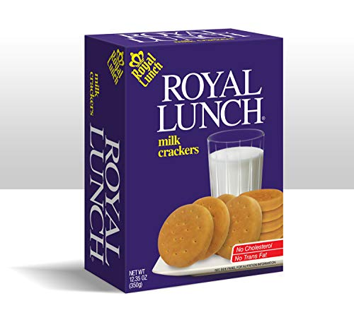 Royal Lunch Milk Crackers 4-pack - 12.35oz each box