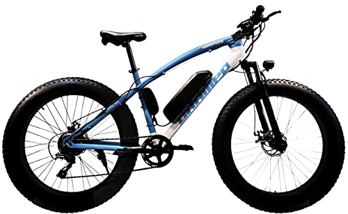 POWER TRONS Electric Bicycle with 7 Speed Gears and...