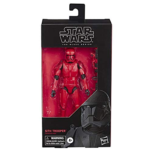 "Star Wars The Black Series Sith Trooper Toy 6"" Scale The Rise of Skywalker Collectible Action Figure, Kids Ages 4 & Up"