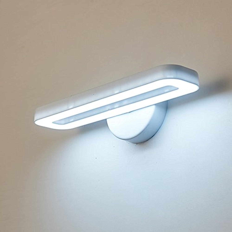 wandlampe LED-moderne Lesewandlampe, Schlafzimmer beleuchtet Nachttischlampen-Wohnzimmer-Gang-Fernsehwand-einfache Wandlampe Schlafzimmerleuchten (Farbe   Wei)