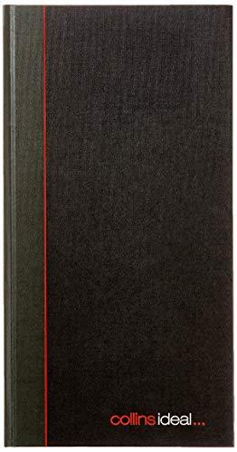 Collins Ideal Cash Book - Libro contable (192 p), negro