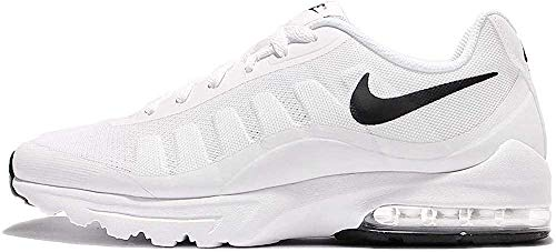Nike Herren Air Max Invigor Laufschuhe, Weiß (White/Black 100), 44