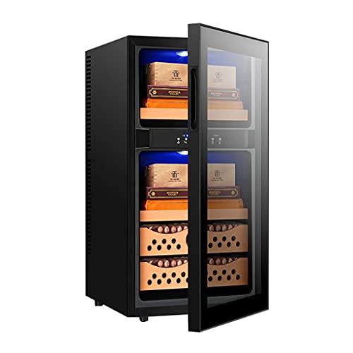 Smarter Zigarrenschrank Wein Teeschrank Zigarrenalkoholschrank Tragbarer Humidor Energiesparend und leise Kapazität 400