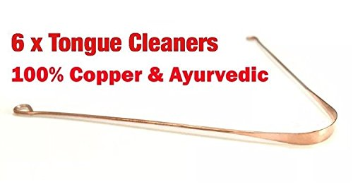 Ayurvedic Copper Metal Tongue Cleaner
