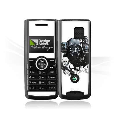 DeinDesign Folie kompatibel mit Sony Ericsson J120i Aufkleber Skin aus Vinyl-Folie Darth Vader Fanartikel Merchandise Star Wars