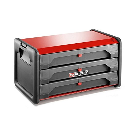 Negro Facom BSYS.BP400 Caja de Herramientas con Fondo Y Almacenamiento Vertical