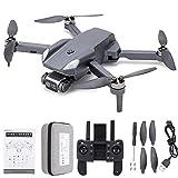 BOLORAMO H9 MAX Mini GPS RC Drone con cámara 4K HD para Adultos Principiantes, Quadcopter RC Plegable Estable y sin escobillas para niños, Modo sin Cabeza, retención de altitud