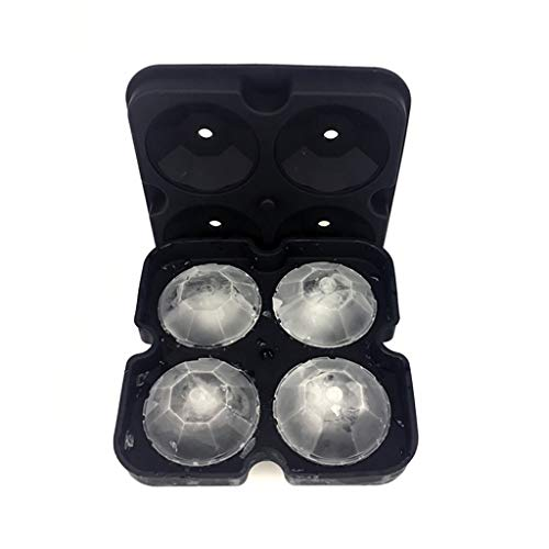 YWSZJ Silikoneisform 3D Diamant Eiswürfel Tray Form Cocktail Whisky Eiswürfel Kugelhersteller Schokolade Eisform Küche bar Zubehör (Color : A)