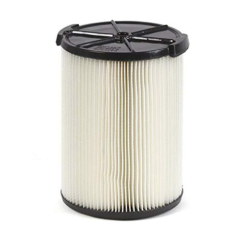 VF4000 Standard Filter for Wet/Dry Vacs Ridgide Vacs 5 Gallons and Larger Vacuum Cleaner, Replacement Vf4000 Filter -Pack of 1 PCS-NEW!