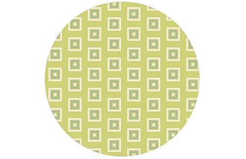 Gräflich Münster'sche Manufaktur Moderne GMM Tapete Modern living - Little Square grün angepasst an Schöner Wohnen Trendfarbe Farn - Hšhe 3m Breite 46,5cm