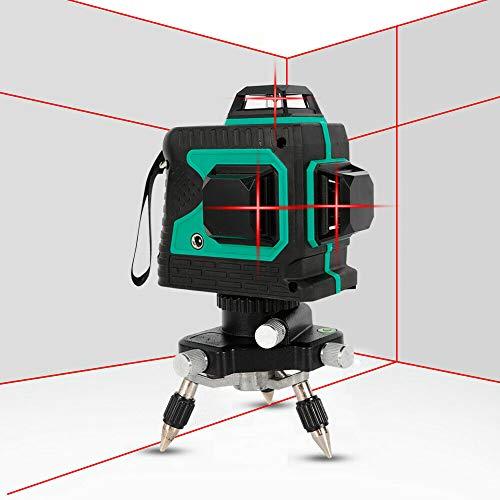 12 Lines 360° 3D Green Red láser Level Self...