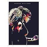 KONGQTE Serena Williams Amerikanische Tennisspielerin
