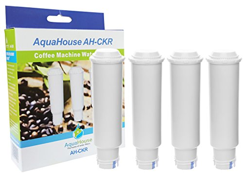 4x Aquahouse AH-CKR schraubbare Kartuschen kompatibel für Krups, Siemens u.a. Kaffeemaschinen