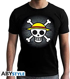 Skull with Map Camiseta de Negro