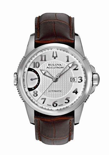 ACCUTRON 63b160–Uhr für Männer, Edelstahl-Armband