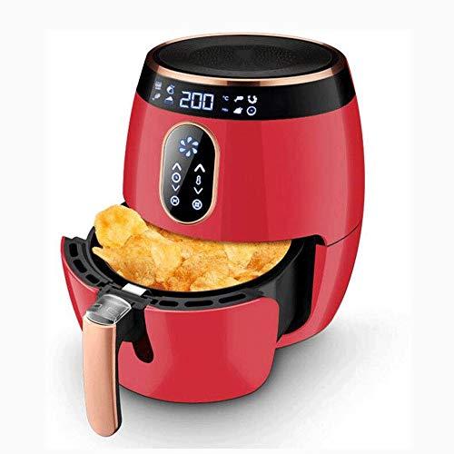 POST Sans huile 1270W Fryer gaz, 200 ° C à haute température Dégraissage, Au revoir, équipé d'un écran LCD tactile, système de refroidissement, anti-brûlure poignée, Convient for la santé Iced aliment