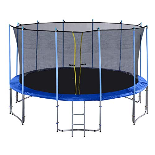 Exacme Outdoor Trampoline 16 Foot with Enclosure Inside Net for Kids,...