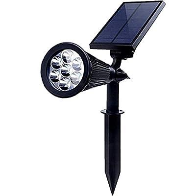 PowerKing Outdoor Solar Spotlight Powered Motion Sensor Battery Operated