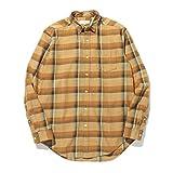 [ビーミング ライフストア by ビームス] ワイシャツ カジュアルシャツ B:MING by BEAMS リラックス レギュラー チェックシャツ メンズ D.ORANGE XL