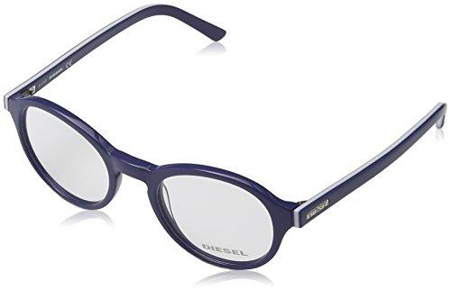 Diesel Unisex Sonnenbrille DL5024, Gr. Medium, Blau (Blau 090)
