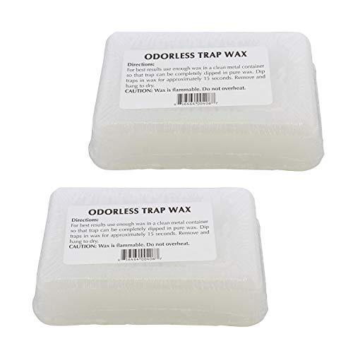 Redneck Convent RC Odorless Trap Wax – 2 Pound Paraffin Wax for Trapping Supply Preservation, Snare Dipping Wax Seal Wax