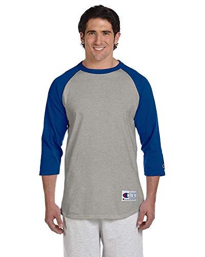 Champion Raglan Baseball T-Shirt Classic Jersey Assorted L
