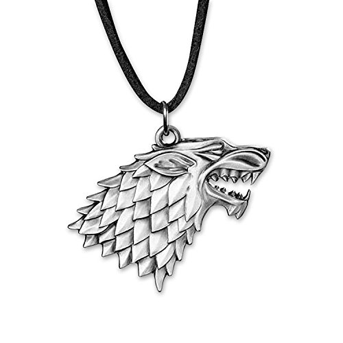 Collana Game of Thrones con logo della Casa Stark
