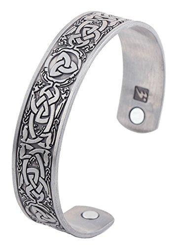 Wikinger Celtic Irish Trinity Armband (unisex)